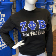 ΖΦΒ Chenille Embroidered Sweatshirt (FINAL SALE!)