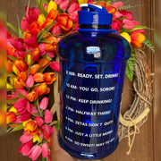 ZΦΒ ZetasHydrate Motivational Water Bottle