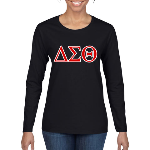 ΔΣΘ Long Sleeve Shirt (FINAL SALE!)