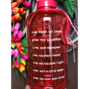 DivasHydrate Motivational Water Bottle