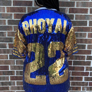 Rhoyal 22 Sequin Jersey (FINAL SALE!)