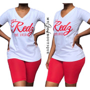 S-3XL Redz Short Set