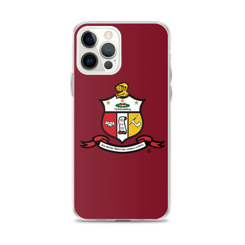 Kappa Coat of Arms iPhone Case