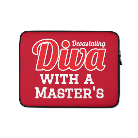 Diva with a Master's Laptop Sleeve
