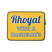 Rhoyal with a Bachelor's Laptop Sleeve