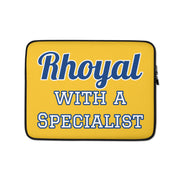 Rhoyal with a Specialist Laptop Sleeve