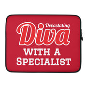 Diva with a Specialist Laptop Sleeve