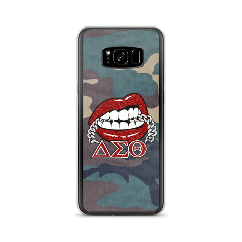 Camo Greek Chain Samsung Phone Case
