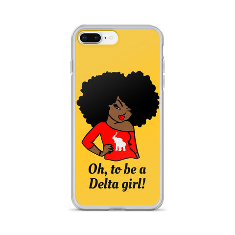 Delta Girl iPhone Phone Case