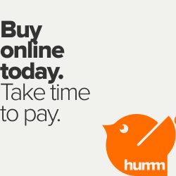 Buy Now Pay in Slices with Humm!