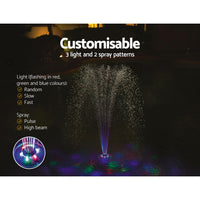 Bestway LED Floating Pool Lamp Multi Float For Pools Swimming Above Ground Pool