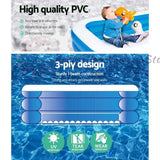 Bestway Inflatable Kids Play Pool Swimming Pool Rectangular Family Pools | Australian Variety Store