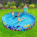 Bestway Swimming Pool Fun Odyssey Above Ground Kids Play Inflatable Round Pools