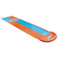 Bestway Inflatable Water Slip Slide Double Kids Splash Toy Outdoor Play 4.88M