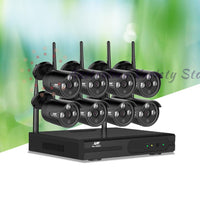 UL-TECH 1080P 8CH Wireless Security Camera NVR Video