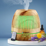 Devanti Aromatherapy Diffuser Aroma Essential Oils Air Humidifier LED Light 400ml