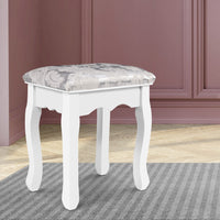 Artiss Dressing Stool Bedroom White
