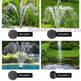 Gardeon 30W LED Lights Solar Fountain with Battery