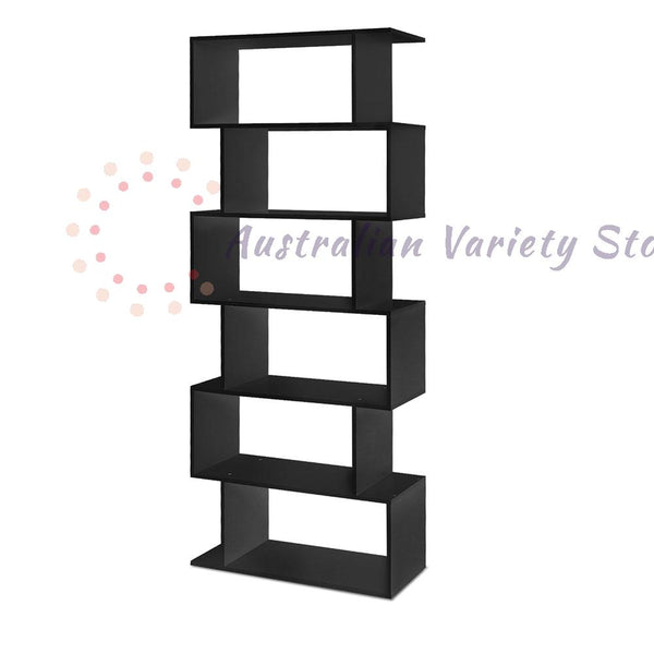 Artiss 6 Tier Display Shelf-Black | Australian Variety Store