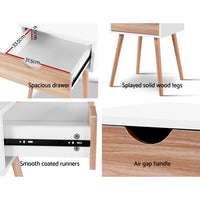 Artiss Bedside Tables Drawers