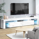 Artiss TV Cabinet Entertainment Unit Stand RGB LED