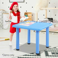 Kids Table Study Desk Blue