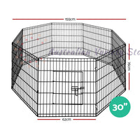 "i.Pet 24"" 8 Panel Pet Dog Playpen"