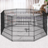 "i.Pet 30"" 8 Panel Pet Dog Playpen"