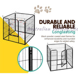 i.Pet 8 Panel Pet Dog Playpen