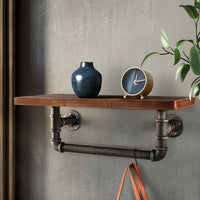 Artiss DIY Industrial Wall Shelves