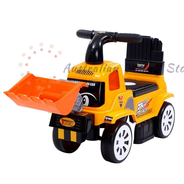 Keezi Kids Ride On Car  Truck Bulldozer Digger Toddler Toy Foot to Floor