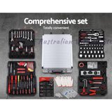 Tool Kit Trolley Case Mechanics Box Toolbox Portable