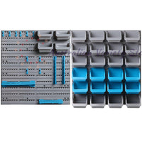 Giantz 44 Bin Wall Mounted Rack Storage Organiser