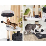 i.Pet Cat Scratcher Pole - White and Grey | Australian Variety Store