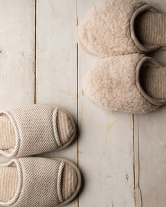 Merino Beige House Slipper