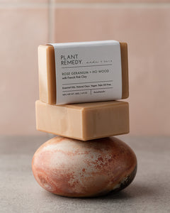 Plant Remedy x made + more Soap Bar - Rose Geranium & Ho Wood