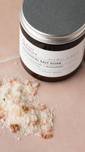 Load image into Gallery viewer, Plant Remedy x made + more Botanical Salt Soak - Rose Geranium and Mandarin