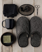 Load image into Gallery viewer, Merino Graphite House Slipper
