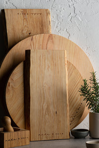 made + more Round Oak Board 38cm
