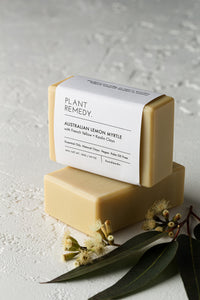 Plant Remedy Soap Bar - Australian Lemon Myrtle with French Yellow + Kaolin Clays