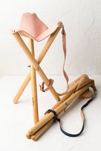 Load image into Gallery viewer, Foldable Tripod Picnic Stools