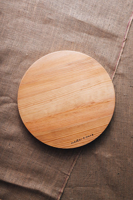 made + more Round Pine Board 48cm