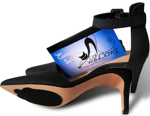 Catwalk Clawz - THE anti slip fashion footwear accessory for the soles of your shoes