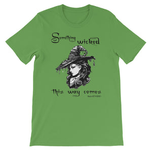 """Something Wicked"" Short-Sleeve Unisex T-Shirt"