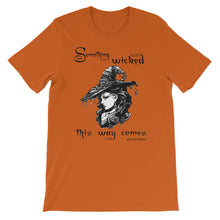 "Load image into Gallery viewer, ""Something Wicked"" Short-Sleeve Unisex T-Shirt"