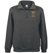 Load image into Gallery viewer, 1/4 Zip Embroidered Fleece