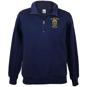 1/4 Zip Embroidered Fleece