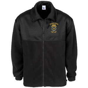 Full Zip Embossed Jacket