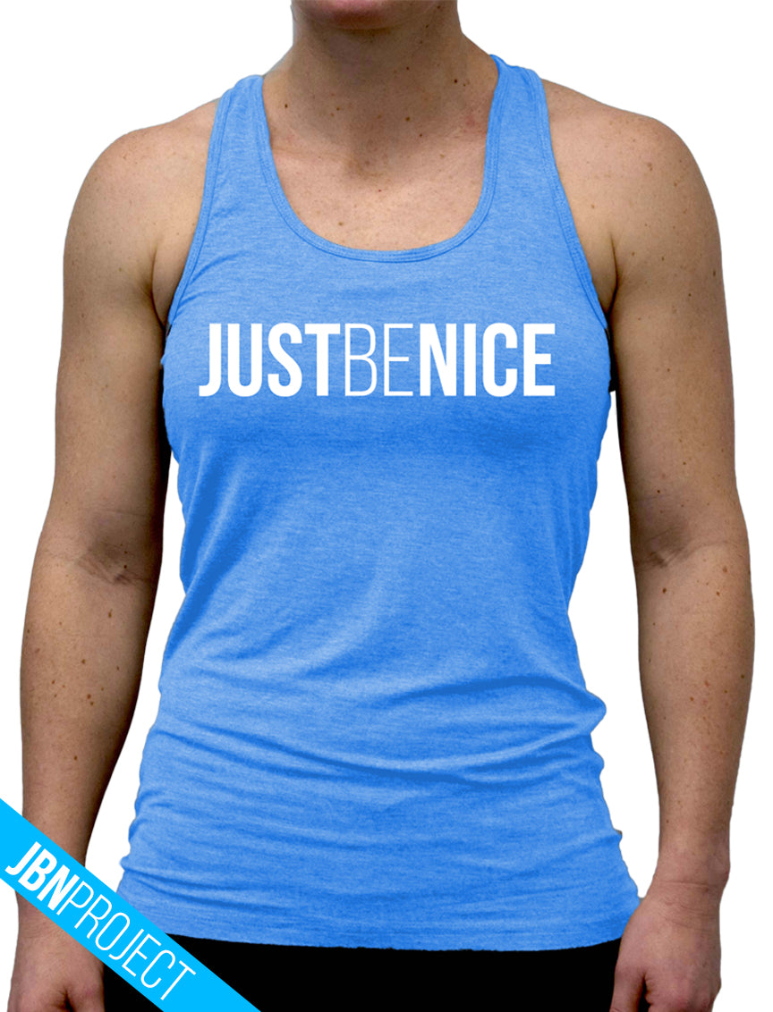 Just Be Nice Project Women's Racerback