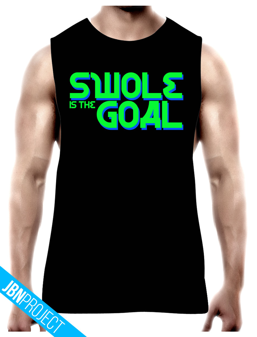 Swole Is The Goal - Unisex Muscle Tee